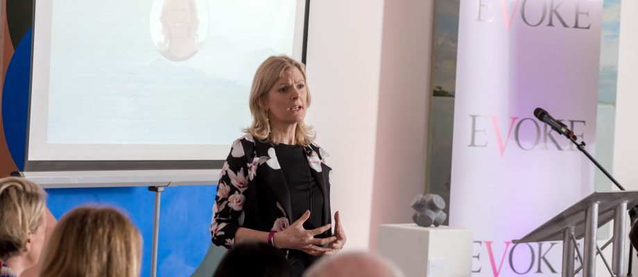 Keynote Speaking Jill Walker Executive Psychologist & Coach Dublin Ireland life work get success executive coaching clients 4th March 2020. IAPI_International Womens Day_Female Futures Fund. Photo: Aidan Oliver
