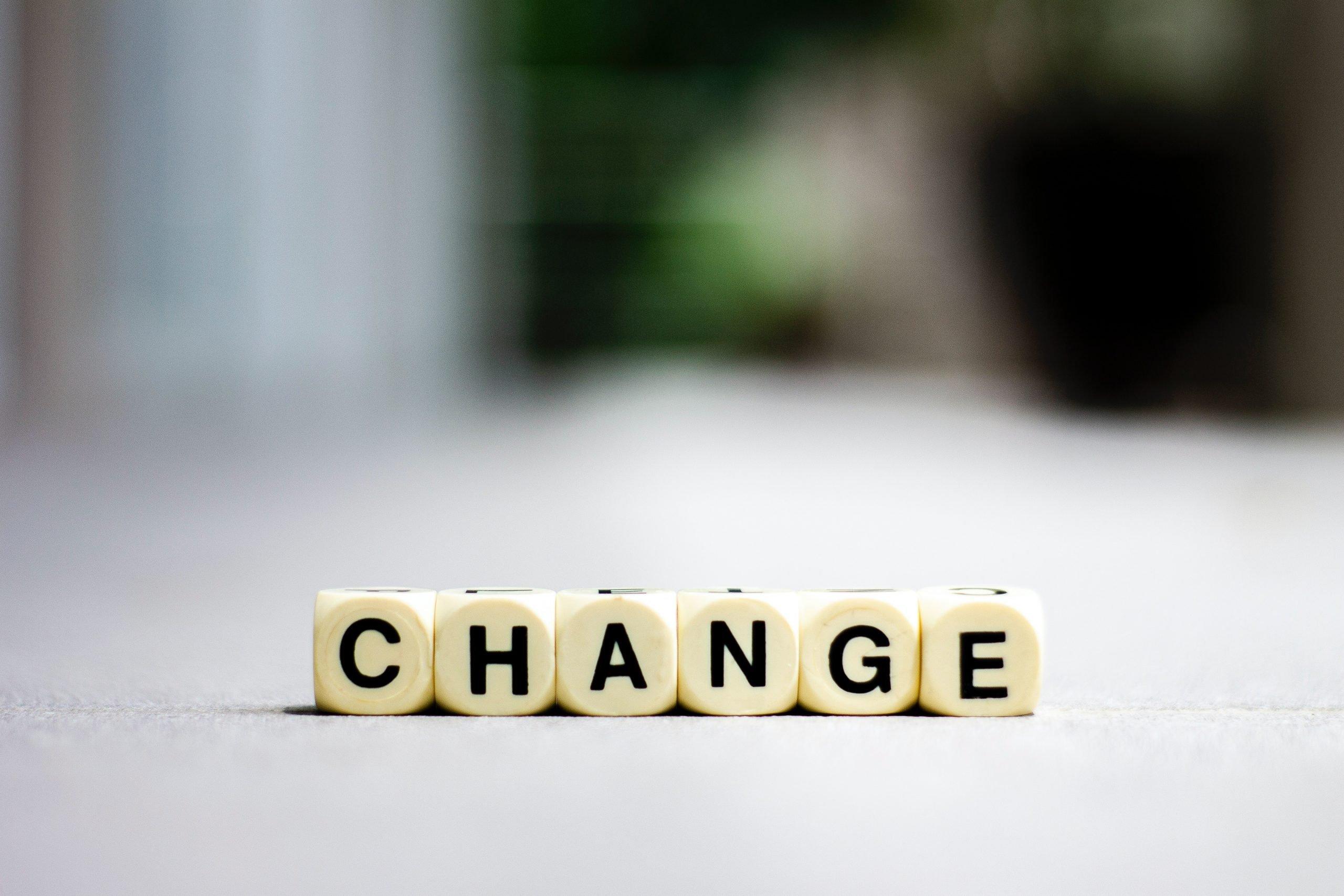 change, transition